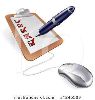 Writing Clipart #1245509 by AtStockIllustration
