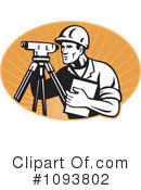Royalty-Free (RF) surveyor Clipart Illustration #1093802