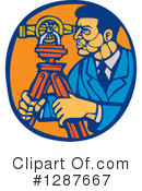 Surveyor Clipart #1287667