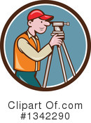 Surveyor Clipart #1342290 by patrimonio