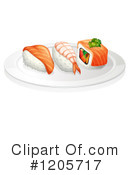 Sushi Clipart #1205717 by Graphics RF