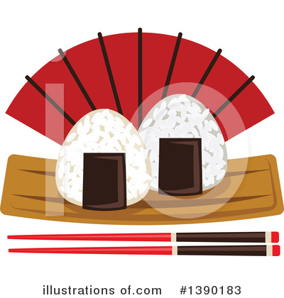 Japanese Food Clipart #1390183 by Vector Tradition SM