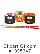 Sushi Clipart #1395347