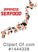 Sushi Clipart #1444338 by Vector Tradition SM