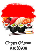 Sushi Clipart #1680908 by Vector Tradition SM