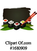 Sushi Clipart #1680909 by Vector Tradition SM