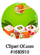 Sushi Clipart #1680910 by Vector Tradition SM