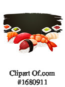 Sushi Clipart #1680911 by Vector Tradition SM