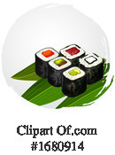 Sushi Clipart #1680914 by Vector Tradition SM
