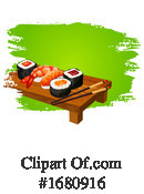 Sushi Clipart #1680916 by Vector Tradition SM