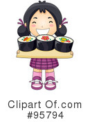 Sushi Clipart #95794 by BNP Design Studio