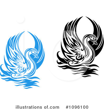 Swan Clipart #1096100 by Vector Tradition SM