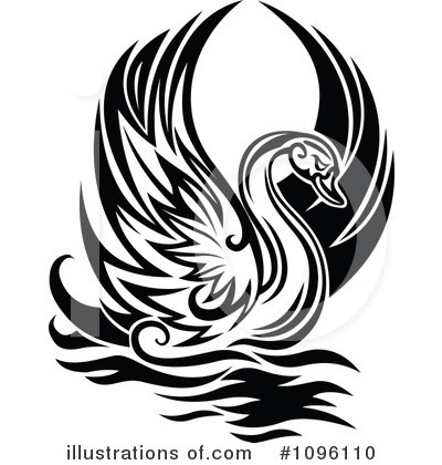 Swan Clipart #1096110 by Vector Tradition SM