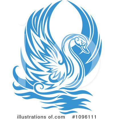 Swan Clipart #1096111 by Vector Tradition SM