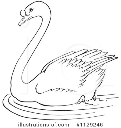 Swan Clipart #1129246 by Picsburg