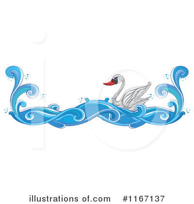 Swan Clipart #1167137 by Graphics RF