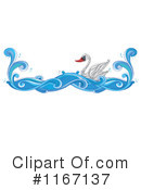Royalty-Free (RF) Swan Clipart Illustration #1167137