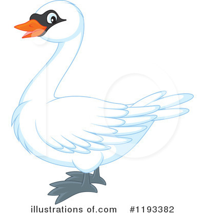 Swan Clipart #1193382 by Alex Bannykh