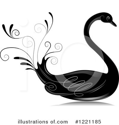 Swan Clipart #1221185 by BNP Design Studio