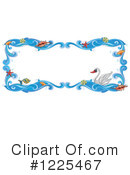 Royalty-Free (RF) Swan Clipart Illustration #1225467