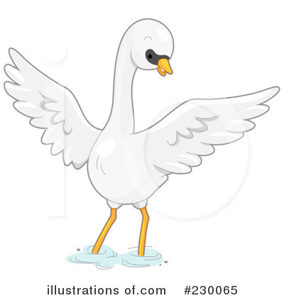 Swan Clipart #230065 by BNP Design Studio