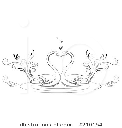 Swan Clipart #210154 by BNP Design Studio