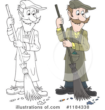 Sweeping Clipart #1184338 by Alex Bannykh