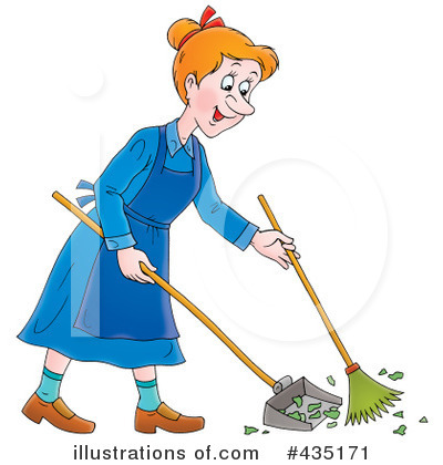 Sweeping Clipart #435171 by Alex Bannykh