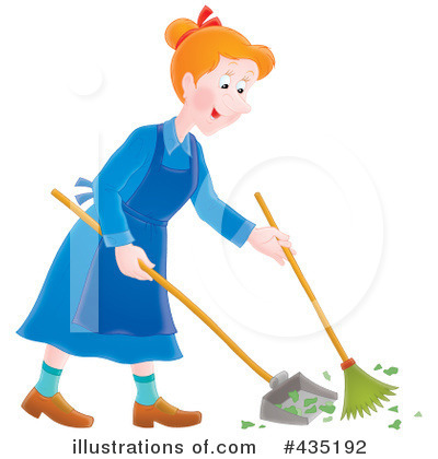 Sweeping Clipart #435192 by Alex Bannykh