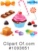 Royalty-Free (RF) Sweets Clipart Illustration #1093651