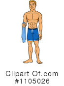 Swim Trunks Clipart #1105026 by Cartoon Solutions