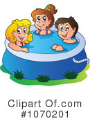 Royalty-Free (RF) Swimming Clipart Illustration #1070201