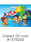 Royalty-Free (RF) swimming Clipart Illustration #1070202
