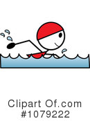 Swimming Clipart #1079222 by Pams Clipart