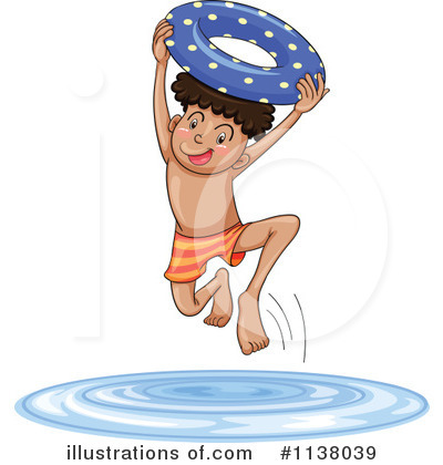 Swimming Clipart #1138039 by Graphics RF