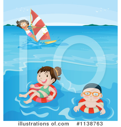 Wind Surfing Clipart #1138763 by Graphics RF