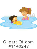 Royalty-Free (RF) Swimming Clipart Illustration #1140247