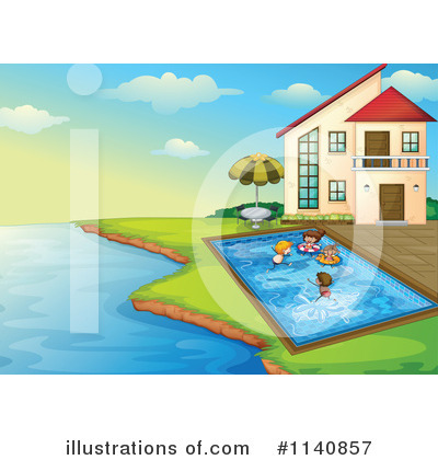 Swimming Clipart #1140857 by Graphics RF