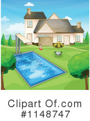 Royalty-Free (RF) Swimming Clipart Illustration #1148747