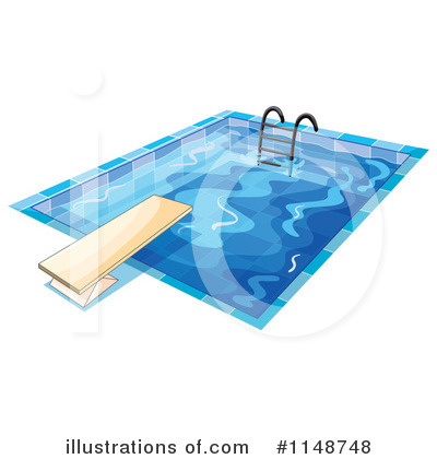 Swimming Clipart #1148748 by Graphics RF