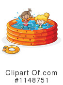 Royalty-Free (RF) Swimming Clipart Illustration #1148751