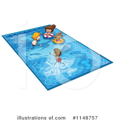Royalty-Free (RF) Swimming Clipart Illustration by Graphics RF - Stock Sample #1148757