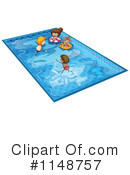 Royalty-Free (RF) Swimming Clipart Illustration #1148757