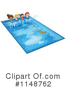 Royalty-Free (RF) Swimming Clipart Illustration #1148762
