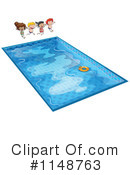 Royalty-Free (RF) Swimming Clipart Illustration #1148763