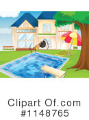 Royalty-Free (RF) Swimming Clipart Illustration #1148765