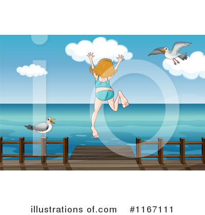 Swimming Clipart #1167111 by Graphics RF