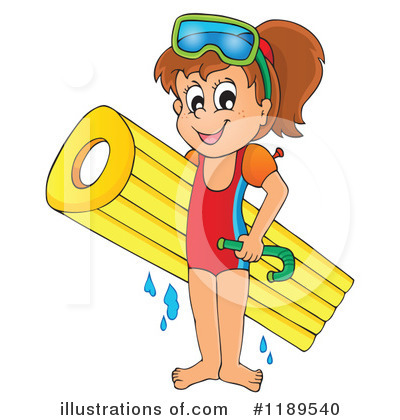 Swimming Clipart #1189540 by visekart
