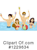 Swimming Clipart #1229634 by BNP Design Studio