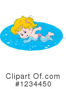 Swimming Clipart #1234450